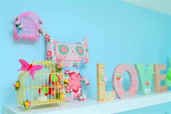 decoracao ideal para espaço infantil