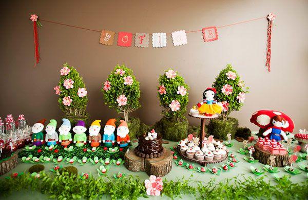 decoracao mesa aniversario infantil moderna
