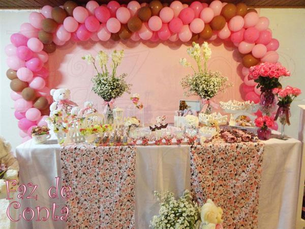 mesa de aniversario decoracao com bolas