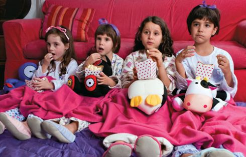 Organize a melhor festa do pijama que sua filha e as amiguinhas dela já tiveram, o resultado será recompensador (Foto: Divulgação)
