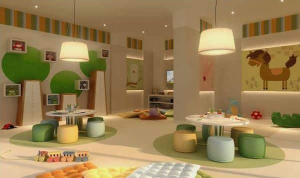 A decoração para quarto de brinquedos infantil requer organização e muitas cores (Foto: Divulgação)