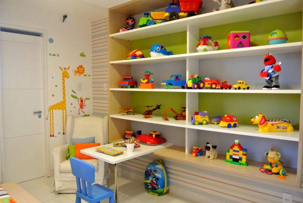 Espaço Infantil – Quarto de Brinquedos Infantil Dicas de Decoração