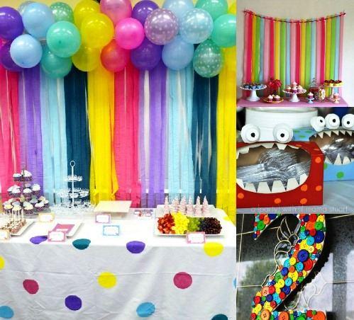 Espa o infantil como fazer uma festa infantil econ mica e for Decoracion infantil barata