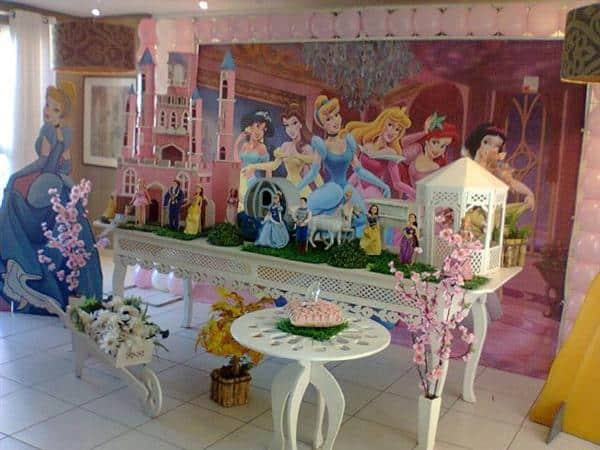 O tema princesas para festa provençal é um dos mais escolhidos (Foto: Divulgação)