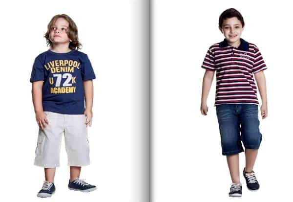 ffc72d4314 Moda infantil 2014  Masculino e Feminino