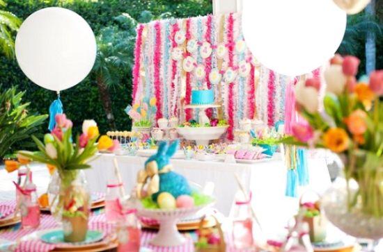 A festa infantil na Páscoa pode ser muito interessante sim, basta as mães investirem nos elementos mais interessantes com o tema (Foto: Divulgação)