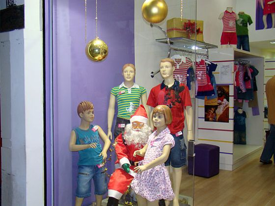 Decoraç u00e3o de Natal de Loja Infantil # Decoração De Natal Para Loja Infantil
