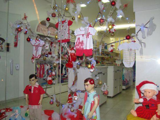 decoracao de sala lojas:Espaço Infantil Decoração de Natal de Loja Infantil