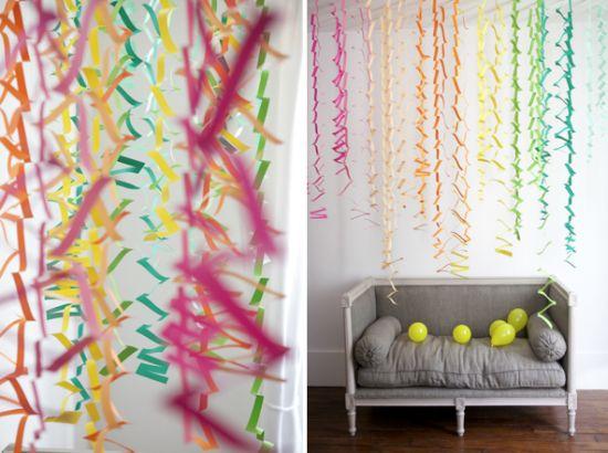 Decora o para festa infantil com papel crepom for Habitacion para adultos completa barata