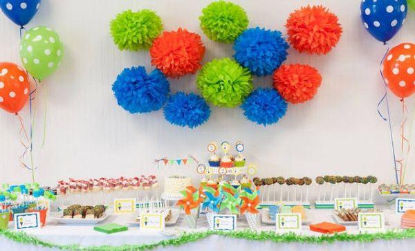 Para decorar uma festa infantil gastando pouco basta usar a imaginação (Foto: Divulgação)