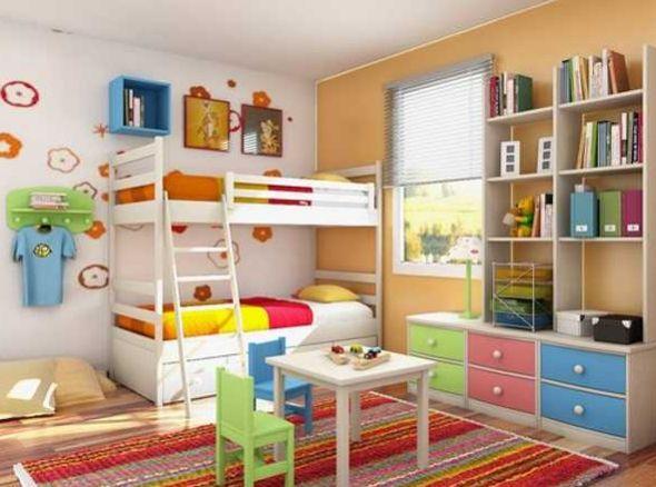 Espaço Infantil – Como Decorar Quarto Infantil com Prateleiras