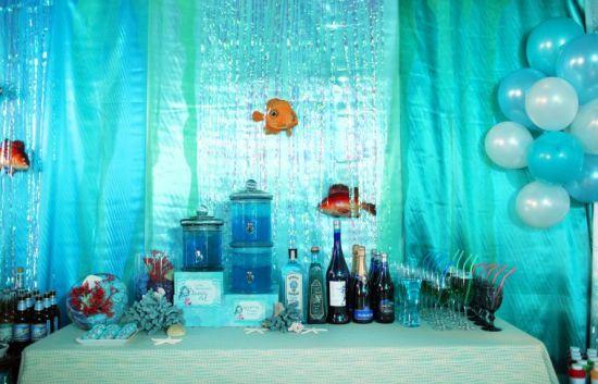 Ideias não faltam para montar uma bela festa infantil com tema fundo do mar (Foto: Divulgação)