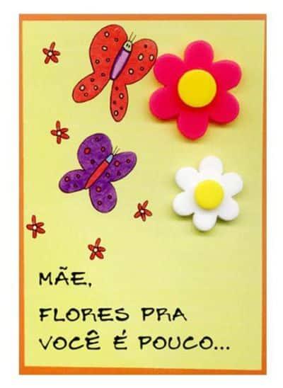 Cartão Para O Dia Das Mães Educação Infantil