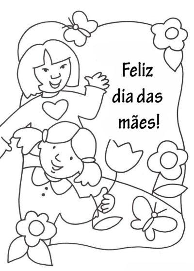 Cartao Para O Dia Das Maes Educacao Infantil