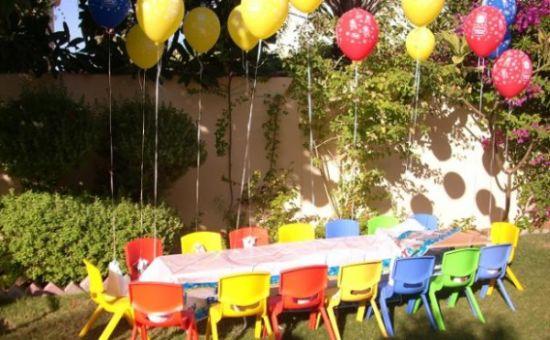 Decoraç u00e3o de Festa Infantil ao Ar Livre
