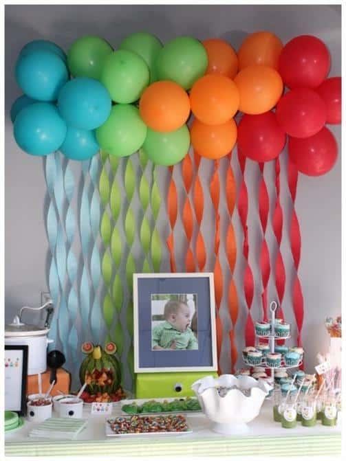 decoracao barata festa infantil (Custom)