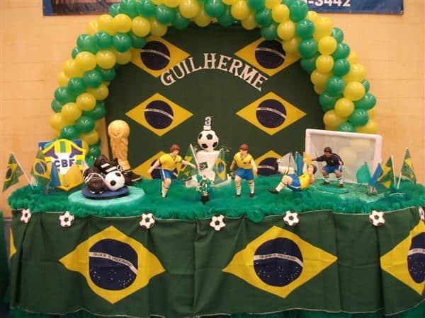 decoracao infantil do brasil na copa (Custom)
