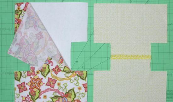 Bolsa De Papelão E Tecido Passo A Passo : Espa?o infantil bolsa de tecido passo a