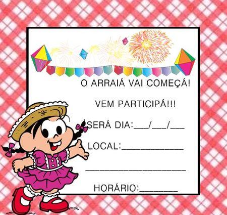Ideias De Convites De Aniversário Infantil Tema Festa Junina