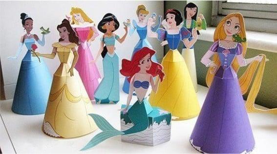 moldes princesas