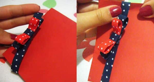 Este convite bonito e fácil pode ser usado em praticamente todos os temas de festa e apenas adaptando as cores da peça (Foto: olhaquechic.blogspot.com.br)