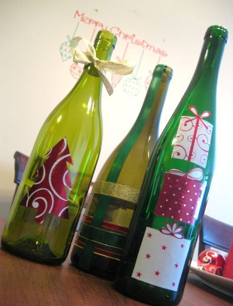 Resultado de imagem para decoraçao de natal  em garrafas