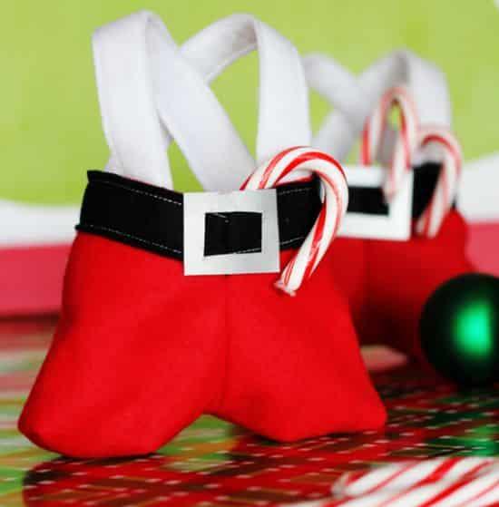 Estas roupinhas de papai Noel para doces vão diferenciar o seu Natal deste ano (Foto: positivelysplendid.com)