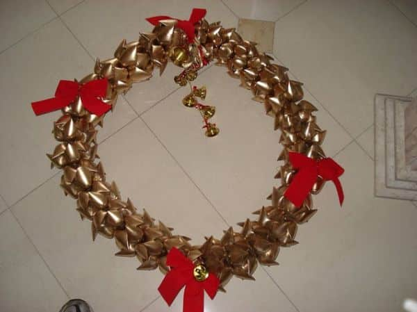 Espaço Infantil Artesanato de Natal com Garrafa Pet Passo a Passo