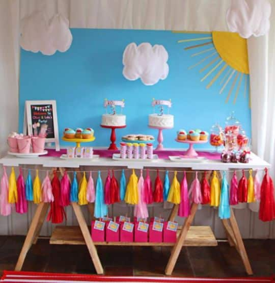 Festa Peppa Pig é divertida e todos adoram (Foto: karaspartyideas.com)