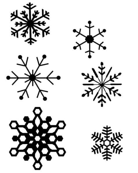 floco de neve festa frozen passo a passo