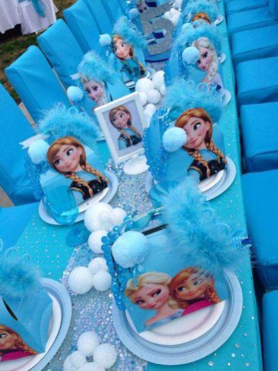 12 Ideias Para Decoração De Festa Infantil Frozen