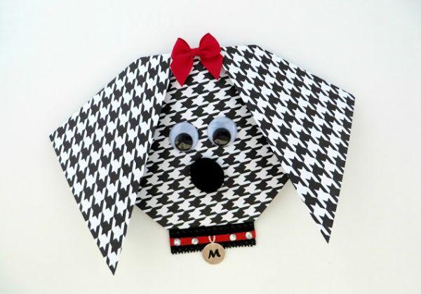 Convite para festa infantil cachorrinho é simpático e pode ser usado em qualquer festinha em que o tema possua animais (Foto: thepartiologist.com)
