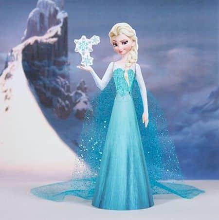 Faça uma Elsa com o nosso molde da Elsa Frozen 3D para imprimir (Foto: family.disney.com)