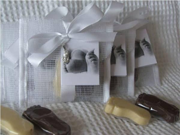 Há muitas e interessantes ideias criativas para lembrancinhas de batizado (Foto: casamentosefestasembh.com)