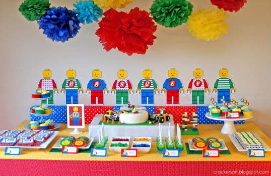 Escolha a sua preferida, entre as muitas ideias de temas legais para festa infantil (Foto: party-wagon.com)