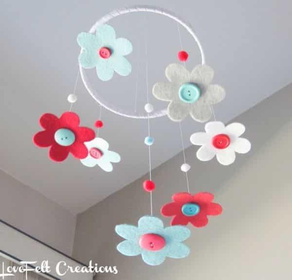 14 ideias de m biles de feltro para quarto de beb - Designer babymobel ...
