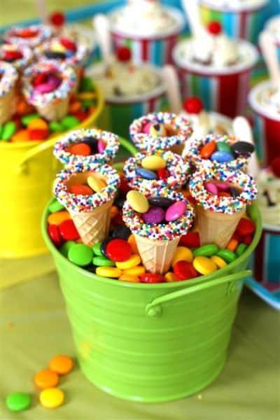 Não faltam ideias criativas de cone de doces (Foto: big1news.com.br)
