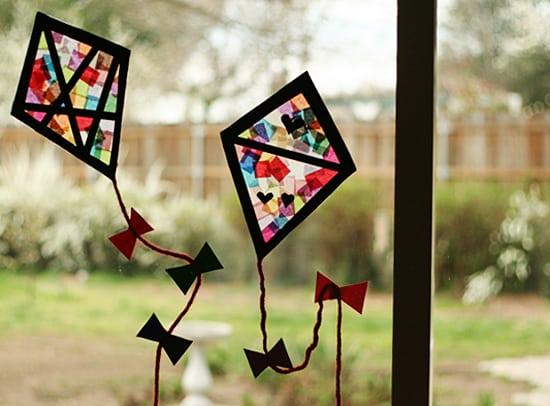 Pipa colorida é ótima opção de objeto decorativo (Foto: makeandtakes.com)