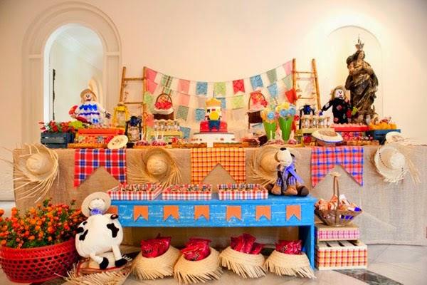 Infantil – Decoração de Festa Junina para Aniversário Infantil