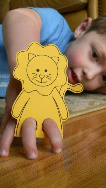 Dedoches de animais são baratos, mas muito divertidos (Foto: brightappleblossom.blogspot.com.br)