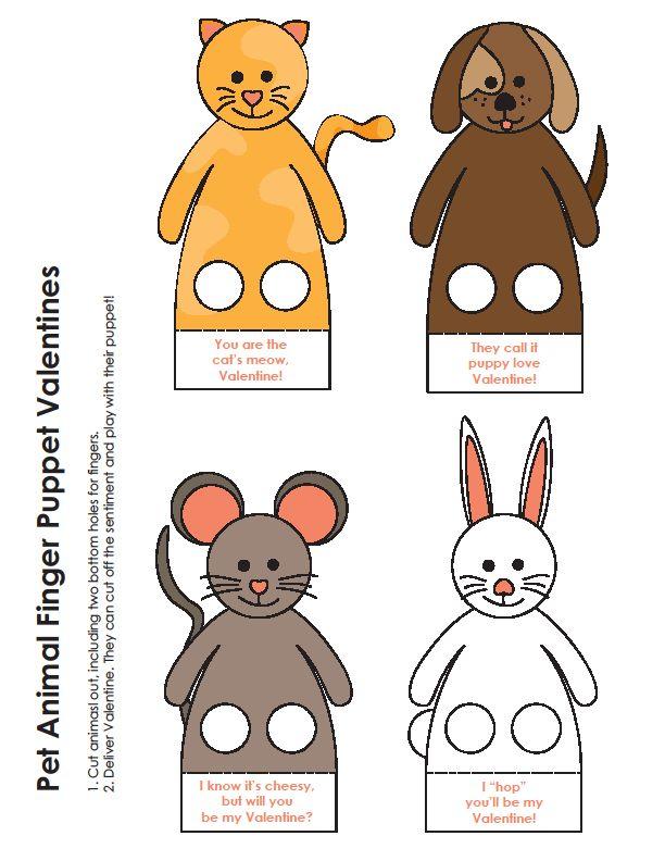Moldes De Dedoches De Animais Para Imprimir