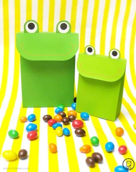 Este saquinho de doces divertido é também fofo e faz o maior sucesso (Foto: mrprintables.com)