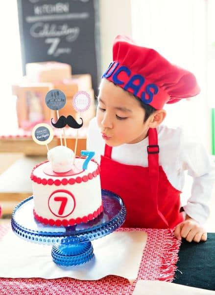 decoracao alternativa para festa infantil : decoracao alternativa para festa infantil:Espaço Infantil Decoração de Festa Infantil Tema Chefe de Cozinha