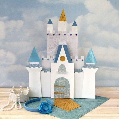 Molde Do Castelo Da Cinderela Para Imprimir