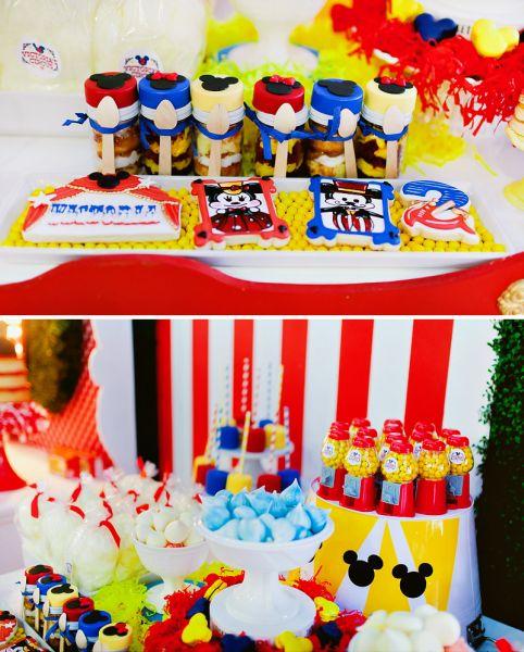 Artigos para festa infantil mickey