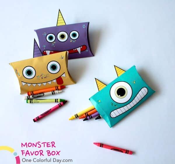 Estas simpáticas caixinhas infantis de monstros possuem funções bem versáteis (Foto: onecolorfulday.com)