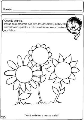 Atividades De Primavera Para Educacao Infantil Maternal