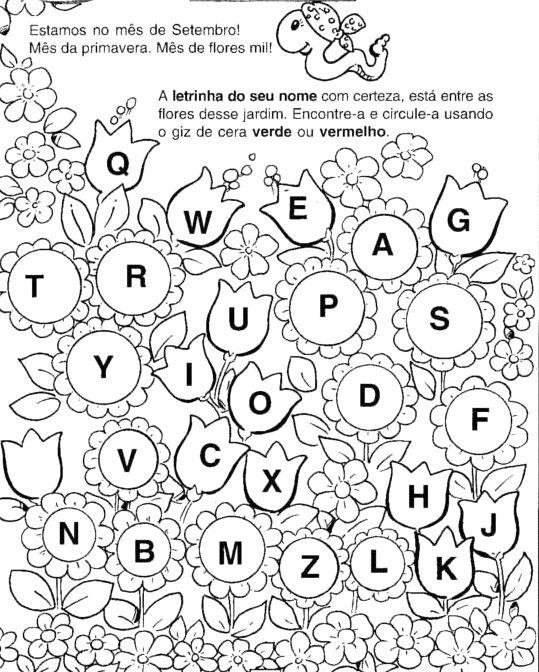 Amado Espaço Infantil – Atividades de Primavera para Educação Infantil  LX12