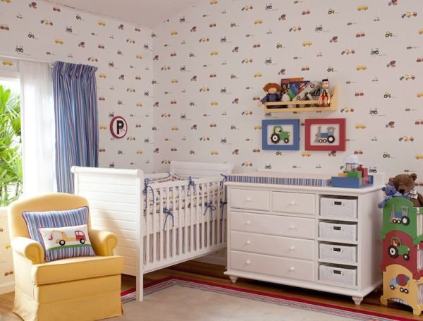 Espaço Infantil – Decoração de Quarto Infantil Masculino  ~ Adesivo De Parede Quarto Infantil Carros