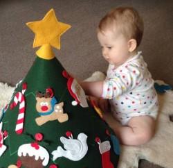 Como Fazer uma Árvore de Natal Infantil